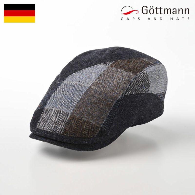 帽子 ハンチング Gottmann(ゴットマン) Daytona Virgin Wool(デイトナ ヴァージンウール) G2813440 グレー