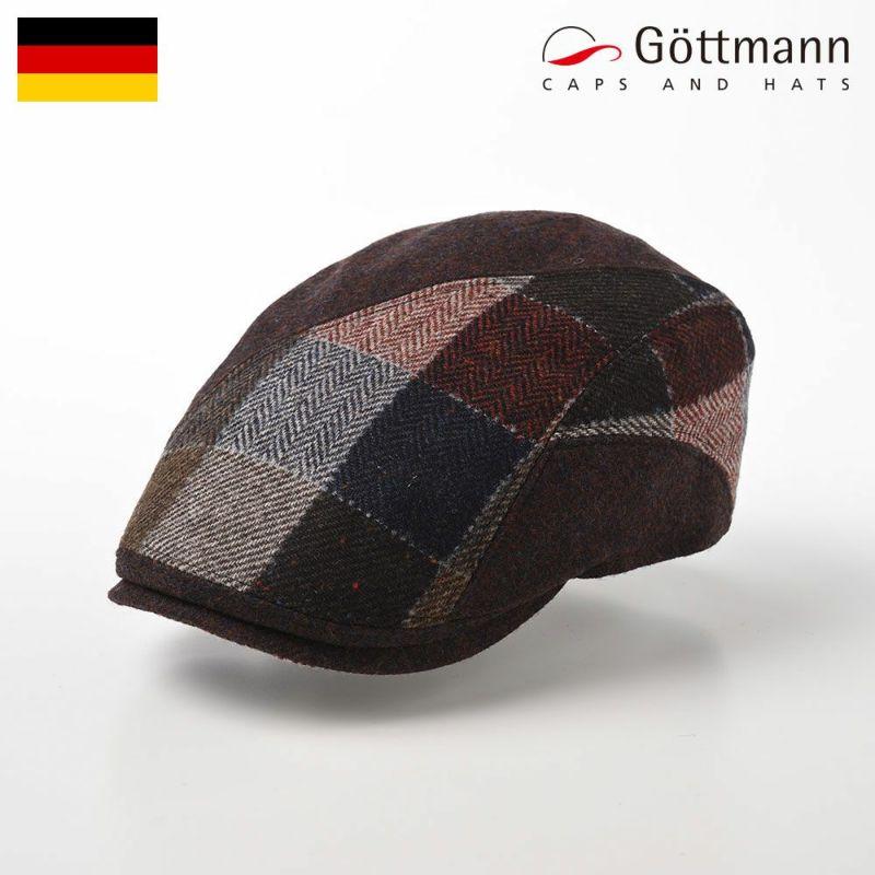 帽子 ハンチング Gottmann(ゴットマン) Daytona Virgin Wool(デイトナ ヴァージンウール) G2813440 レッドブラウン
