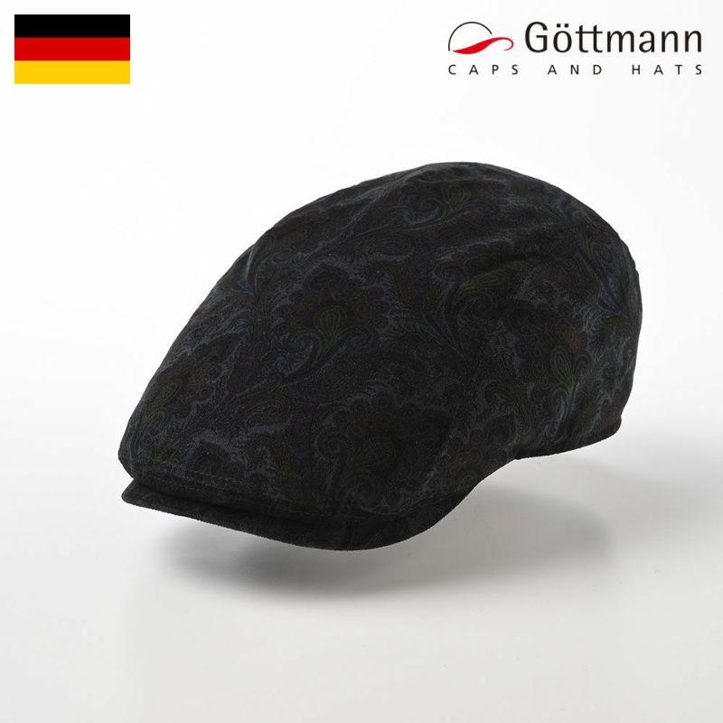 帽子 ハンチング Gottmann(ゴットマン) Fletcher Damask(フレッチャー ダマスク) G2834448 ブラック
