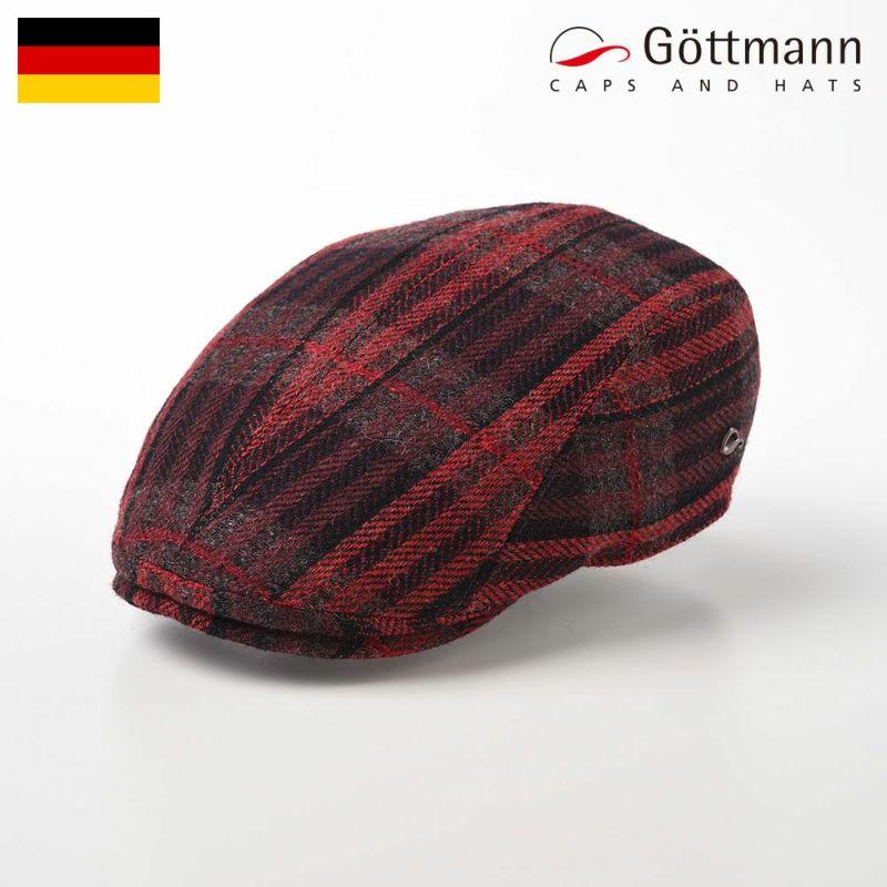 帽子 ハンチング Gottmann(ゴットマン) Jackson Wool(ジャクソン ウール) G2638323 レッド