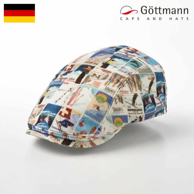 帽子 ハンチング Gottmann(ゴットマン) Richmond Cotton(リッチモンド コットン) G2810447 マルチ