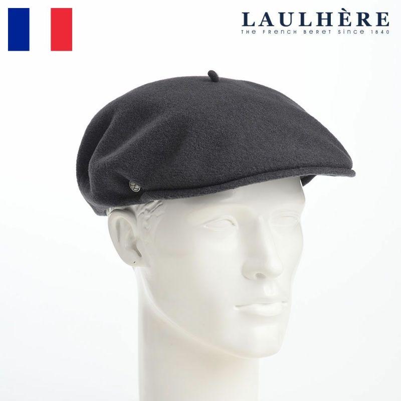 帽子 ベレー帽 LAULHERE(ロレール) LAINE WL 1898(レーヌ ウール)グレー