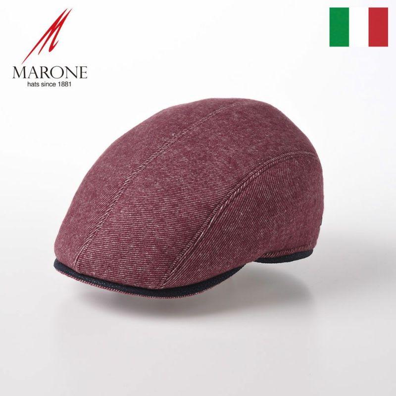 帽子 ハンチング MARONE(マローネ) Quattro Colori(クアトロ コローリ)BT927 ローズ