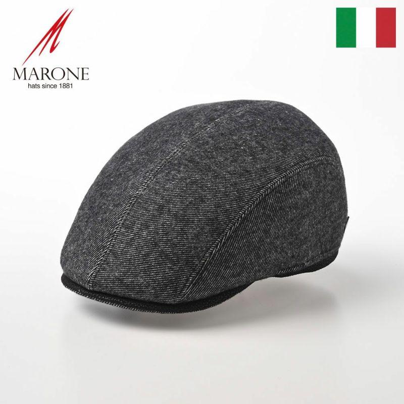 帽子 ハンチング MARONE(マローネ) Quattro Colori(クアトロ コローリ)BT927 ブラック