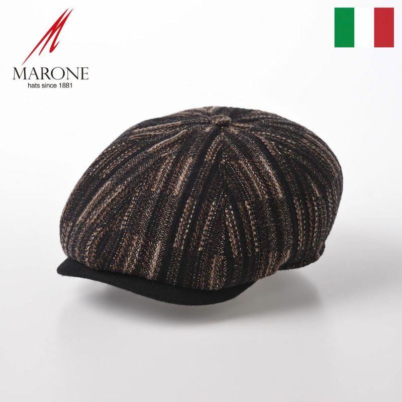 帽子 ハンチング MARONE(マローネ) Galles Sugar(ウェールズ シュガー)BT 941 ブラウン