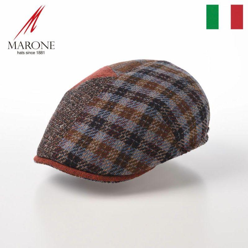 帽子 ハンチング MARONE(マローネ) Rio Patchwork(リオ パッチワーク)BT 961 マルチ