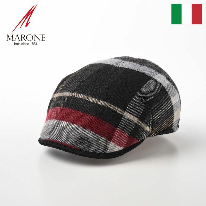 帽子 ハンチング MARONE(マローネ) One Panel Berretto Stewart (ワンパネルベレット スチュアート)BT968 チェック
