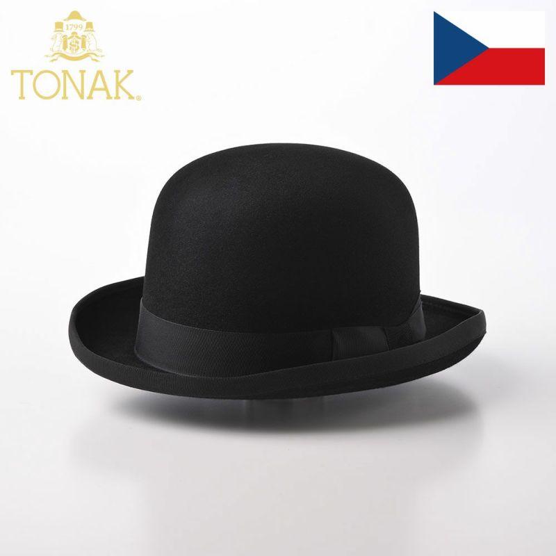 帽子 フェルトハット TONAK(トナック) KOLO(コロ)ブラック