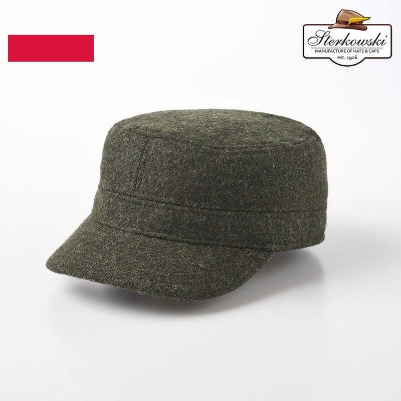 帽子 ワークキャップ Sterkowski(ステルコフスキー) BIGPIKE(ビッグパイク) グリーン