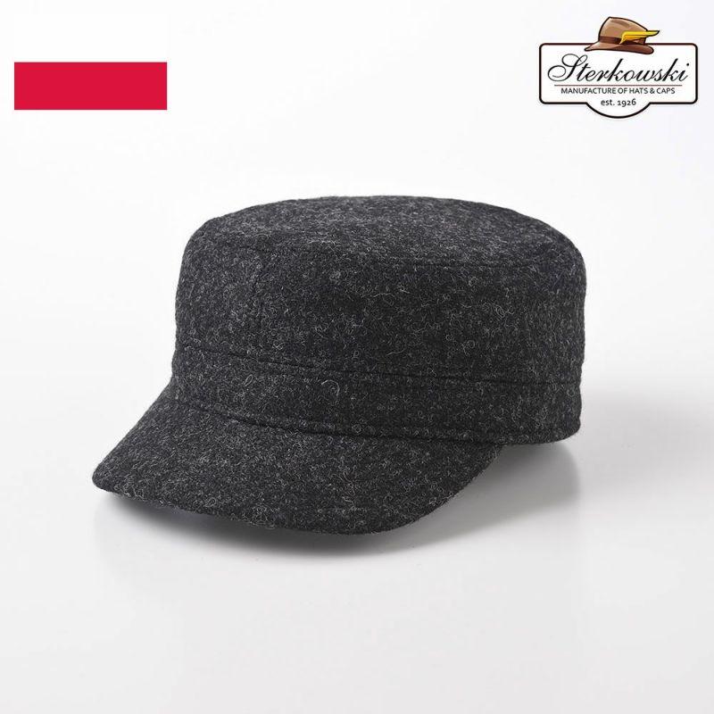 帽子 ワークキャップ Sterkowski(ステルコフスキー) BIGPIKE(ビッグパイク) ダークグレー