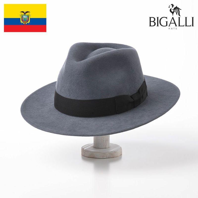 帽子 フェルトハット BIGALLI(ビガリ) ARTHUR(アーサー)ブルーストーン