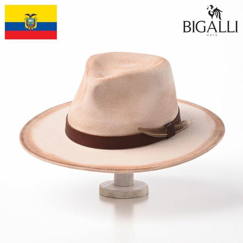 帽子 フェルトハット BIGALLI(ビガリ) ZINGARO(ジンガロ)クリーム